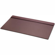 "DACASSO® Chocolate Brown Leather 34"" X 20"" Top-Rail Desk Pad"