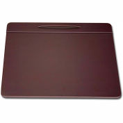 "DACASSO® Chocolate Brown Leather 17"" x 14"" Pen Well Conference Pad"