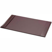 "DACASSO® Econo-Line Brown Leather 30"" x 18"" Side-Rail Desk Pad"