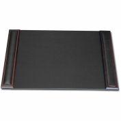 """DACASSO® Walnut & Leather 25.5"""" x 17.25"""" Side-Rail Desk Pad"""