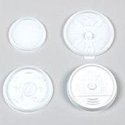 Dart® DCC12JL, Plastic Lids for Hot/Cold Foam Cups, White, 1000/Carton
