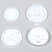 Dart® DCC12JL, Plastic Lids for Hot/Cold Foam Cups, White, 1000/Carton