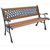 DC America Mesh Resin Park Bench