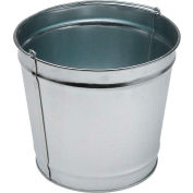 Smokers' Outpost® 5-Quart Pail, Galvanlized Steel