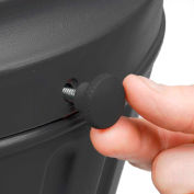 Commercial Zone Replacement Fastener Knob, Black