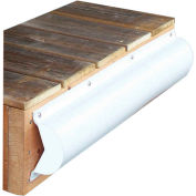 Dock Edge Piling Bumper 6', PVC White 1/Case - 1020-F