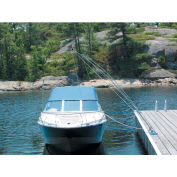 Dock Edge Mooring Whip 12' Lines & HDW, 5000Lb Capacity 1/Case - 3400-F