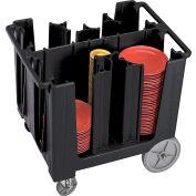 Cambro Adjustable Dish Caddy Black ADCS-110
