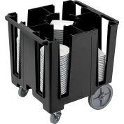 "Cambro Versa Dish Caddy, Maximum Plate Size: 9-1/2"" Black DCS950-110"