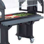 Cambro 5 Ft. Tray Rail for Versa Food Bars Granite Gray VBRR5-191