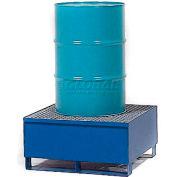 Denios K17-3101 1 Drum Steel Spill Pallet - Painted Steel