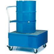 Denios K17-3106 1 Drum Spill Containment Cart - 66 Gallon Capacity