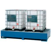 Denios K17-3123 2 IBC Steel Storage Sump