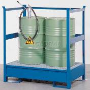 Denios K17-3202 2 Drum Steel Transport Spill Pallet