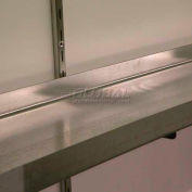 "Denios 3' 10""W x 1' 2""D x 2""H, Shelf For 2 & 4 Drum Buildings"