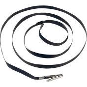 Desco Disposable ESD Wrist Strap 14401 Vinyl With Clip - Black