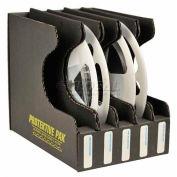 "Protektive Pak 37566 Conductive Reel Storage Container, 5 Slots, 5-3/4""L x 8-1/4""W x 7-1/4""H"