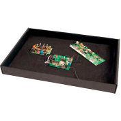 "Protektive Pak ESD Board Handler Tray,18-5/8""L x 13-7/8""W x 2-1/4""H"