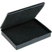 "Protektive Pak 57010 Conductive Hinged Boxes w/Foam, 9-3/16""L x 5-3/16""W x 1""H"