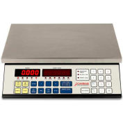 "Detecto 2240-50 Digital Counting Scale 50lb x 0.005lb 14-1/2"" x 8-1/4"" Platform"