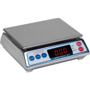 Detecto AP-8 Digital Portion Scale 7.998lb x 0.002lb Stainless Steel