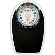 "Detecto D-1130 Bathroom Scale 330lb x 1lb Low Profile 11-1/4"" x 11-34"" Platform W/ Non-Skid Mat"