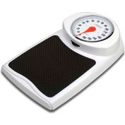 "Detecto D350K Bathroom Scale 160kg x 1kg Low Profile 10-5/8"" x 10-5/8"" Platform"