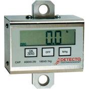 Detecto PL400 Digital Patient Lift Indicator 400lb x 0.2lb / 182kg x 0.1kg