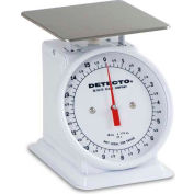 "Detecto PT-1 Top Load Scale 16 x 1/4oz W/ Enamel Finish, 6"" Fixed Dial, 5-3/4"" Square Platform"