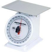 "Detecto PT-25-R Top Load Scale 25 x 1/8oz W/ 6"" Rotating Dial, 5-3/4"" Square Platform"