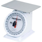 "Detecto PT-25 Top Load Scale 25 x 1/8lb W/ Enamel Finish, 6"" Fixed Dial, 5-3/4"" Square Platform"