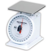 "Detecto PT-2R Top Load Scale 32 x 1/4oz W/ Enamel Finish, 6"" Rotating Dial, 5-3/4"" Square Platform"