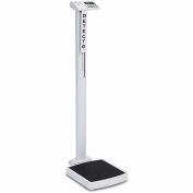 Detecto Solo® Eye Level Digital Physician Scale, 550 lb x 0.2 lb / 250 kg x 0.1 kg