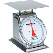"""Detecto T-2-S Top Load Scale 32oz x 1/8oz Stainless Steel W/ 8"""" Fixed Dial, 9"""" x 9"""" Platform"""