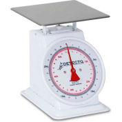 "Detecto T-25-KP Top Load Scale 25kg x 100g/ 55lb x 4oz W/ 8"" Fixed Dial, 9"" x 9"" SS Platform"