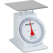 "Detecto T-50-KP Top Load Scale 50kg x 200g/ 110lb x 1/2lb W/ 8"" Dial, Removable Bowl"