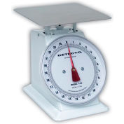 """Detecto T10 Top Load Scale 10lb x 1oz Enamel Finish W/ 8"""" Fixed Dial, 9"""" x 9"""" Stainless Platform"""