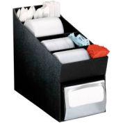 Dispense-Rite® Countertop Lid, Straw, Condiment and Napkin Organizer