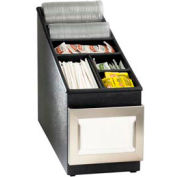Dispense-Rite® Countertop Napkin, Straw, Lid & Condiment Organizer