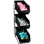 Dispense-Rite® 3 Compartment Wire Rack Condiment Organizer