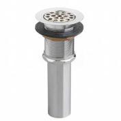 "American Standard 2411015.002 Heritage Sink Drain W/ 1-1/4"" Trap, Polished Chrome"