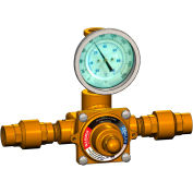 Lawler 911E/F Eyewash Valve, Rough Bronze