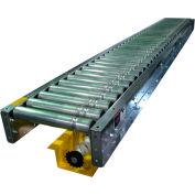 "Omni Metalcraft Lineshaft 10' Slave Conveyor LSSS1.9X16-18-3-10 - 1.9"" Dia. - 18""BF"