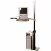 Stand Alone Computer Station
