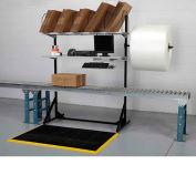 "Dehnco Over Conveyor Storage Stand, 59""W x 24""D x 84-1/2""H"