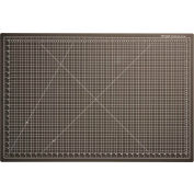 "Dahle® Vantage® Self-Healing Cutting Mat - 24"" x 36"" - Black"