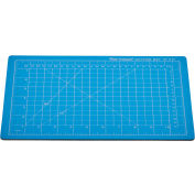 "Dahle® Vantage® Self-Healing Cutting Mat - 9"" x 12"" - Blue"