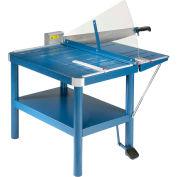 "Dahle® 32 1/8"" Premium Large Format Guillotine Lever Paper Cutter"