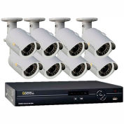 Q-See® 8 Channel AHD DVR with 8 1080p Bullet Cameras, 2TB HDD