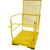 "DPI 36""L x 48""W Work Platform W/ Back Cage Riser, 1000 Lb. Cap. - MP-17E"